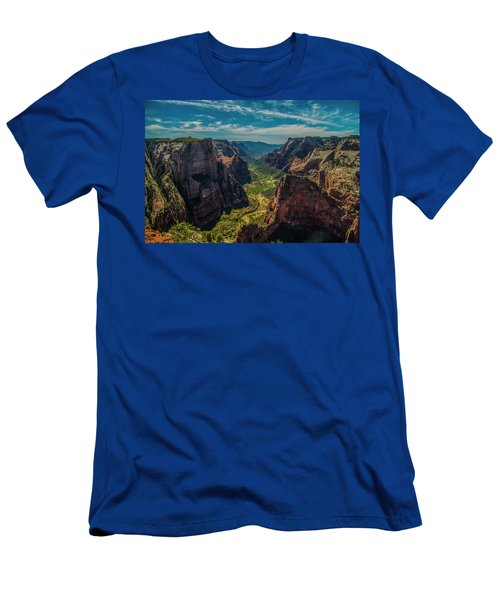 A Forever View Men's T-Shirt (Athletic Fit)