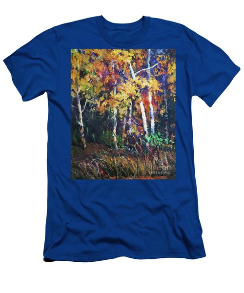 A Glance Of The Woods Men's T-Shirt (Athletic Fit)