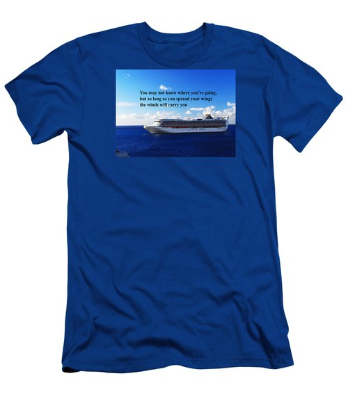 A Life Journey Men's T-Shirt (Slim Fit) by Gary Wonning