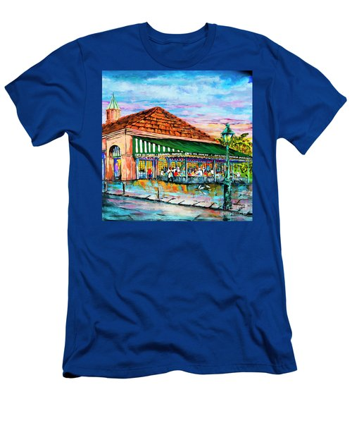 A Morning At Cafe Du Monde Men's T-Shirt (Athletic Fit)