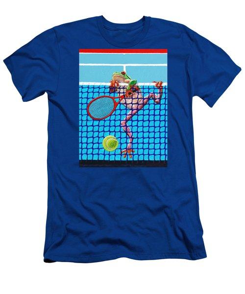 A Net Violation Men's T-Shirt (Slim Fit) by John Lautermilch