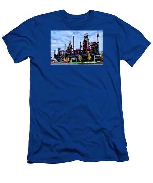 A New Era - Bethlehem Pa Men's T-Shirt (Slim Fit) by DJ Florek