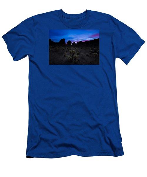 A Nights Dream  Men's T-Shirt (Slim Fit) by Tassanee Angiolillo