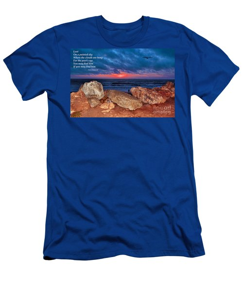 A Painted Sky For The Poet's Eye Men's T-Shirt (Slim Fit) by Jim Fitzpatrick