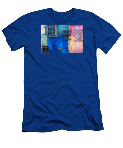 A Painted Wall Men's T-Shirt (Athletic Fit)