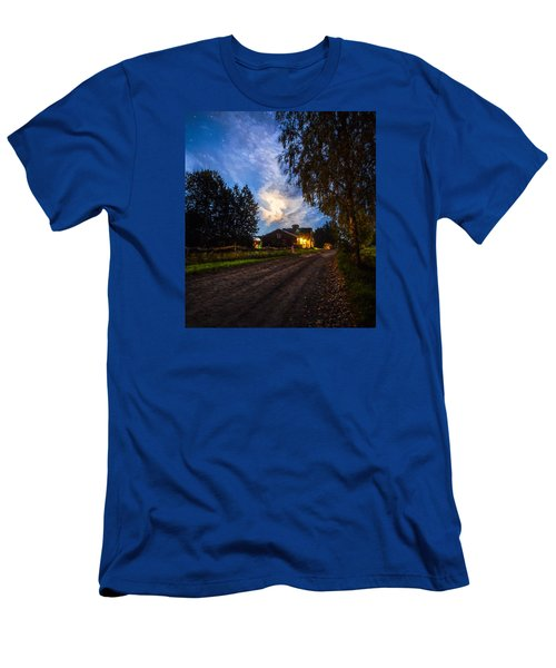 A Peaceful Evening Men's T-Shirt (Athletic Fit)