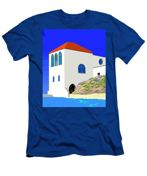 A Private Beach Men's T-Shirt (Athletic Fit)