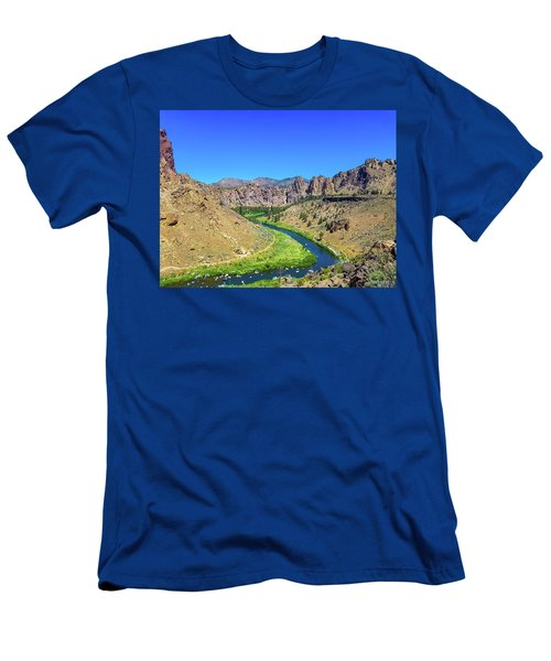 A River Runs Through Men's T-Shirt (Athletic Fit)