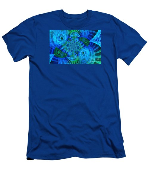 A Walk In The Gallery Men's T-Shirt (Athletic Fit)