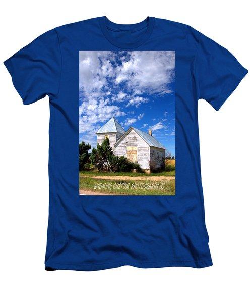 Abandoned Building Men's T-Shirt (Athletic Fit)