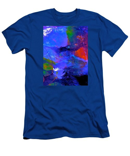 Abstract 112 Men's T-Shirt (Slim Fit) by Pamela Cooper