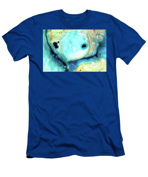 Abstract Art - Holding On - Sharon Cummings Men's T-Shirt (Athletic Fit)