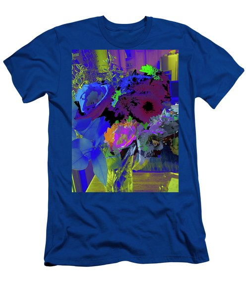 Abstract Flowers Of Light Series #18 Men's T-Shirt (Athletic Fit)