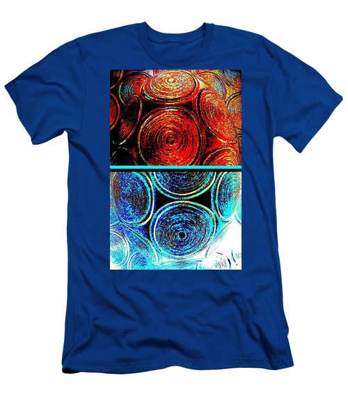 Men's T-Shirt (Slim Fit) featuring the digital art Abstract Fusion 275 by Will Borden