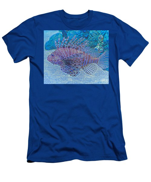 Abstract Lionfish Men's T-Shirt (Athletic Fit)