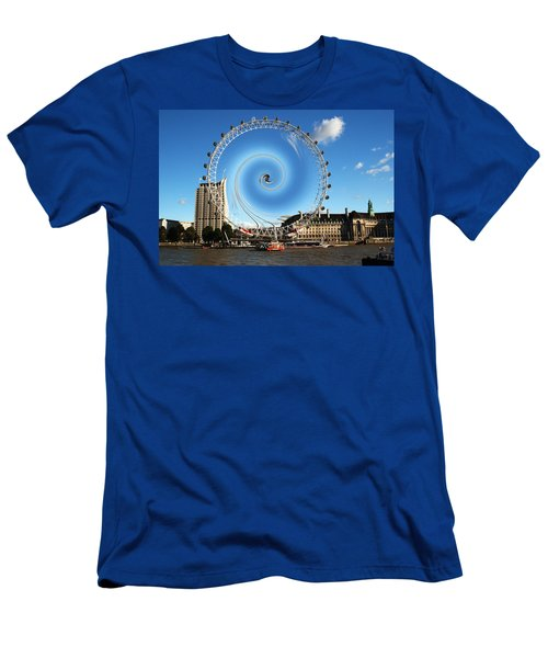 Abstract Of The Millennium Wheel Men's T-Shirt (Athletic Fit)
