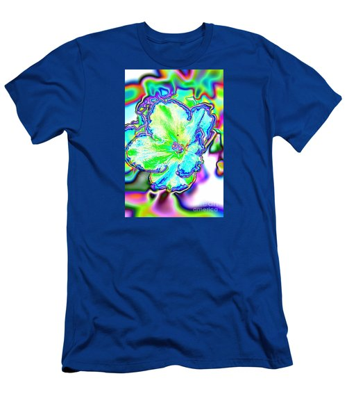 Abstract Of Violet Men's T-Shirt (Athletic Fit)