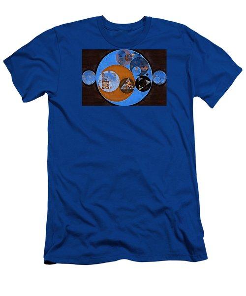 Abstract Painting - Rock Blue Men's T-Shirt (Slim Fit) by Vitaliy Gladkiy