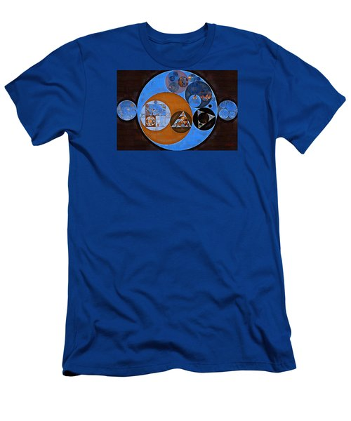 Abstract Painting - Rock Blue Men's T-Shirt (Athletic Fit)