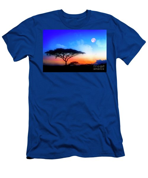Acacia Sunset Men's T-Shirt (Athletic Fit)