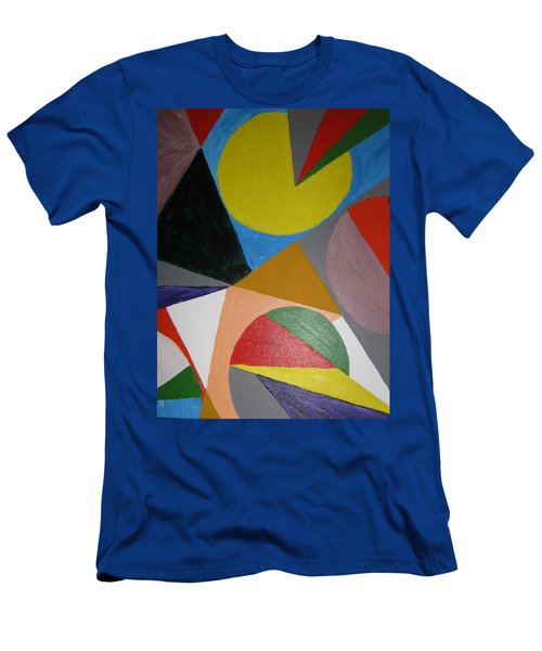 Accidental Pacman Men's T-Shirt (Slim Fit) by Barbara Yearty