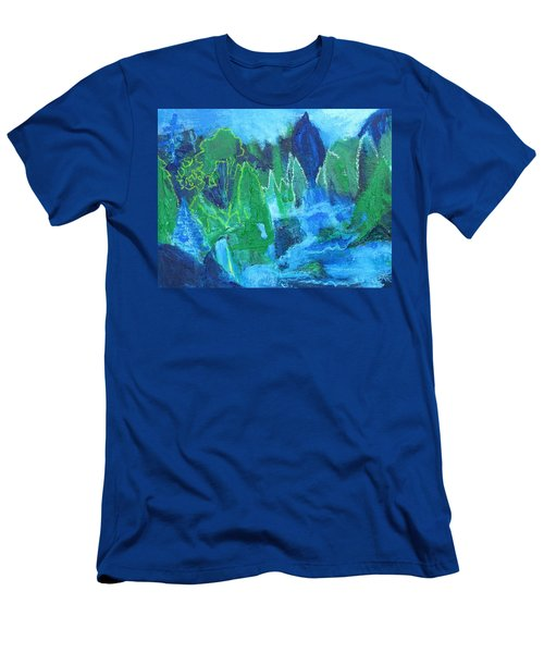 Adirondack Spring Men's T-Shirt (Slim Fit) by Betty Pieper