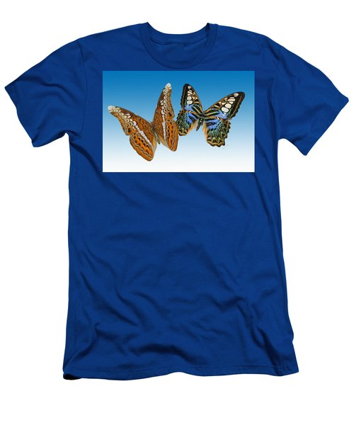 Admiral And Clipper Butterfly Men's T-Shirt (Athletic Fit)