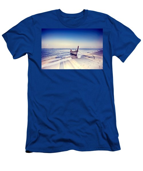 After A Hard Day Men's T-Shirt (Athletic Fit)