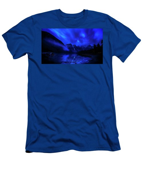Men's T-Shirt (Slim Fit) featuring the photograph After Midnight by John Poon