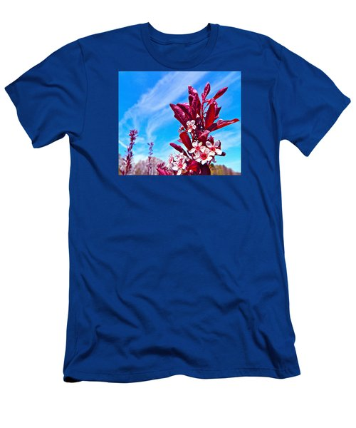 Aglow With Beauty Men's T-Shirt (Slim Fit) by Randy Rosenberger