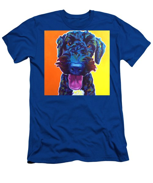 Airedoodle - Fletcher Men's T-Shirt (Athletic Fit)