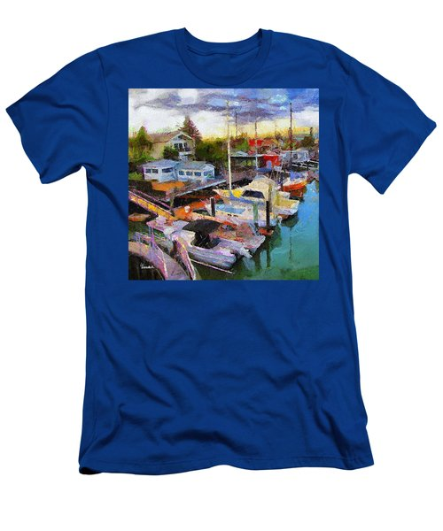Alameda Life On The Estuary 2 Men's T-Shirt (Athletic Fit)