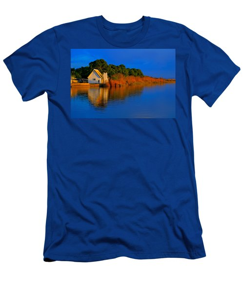 Albufera Blue. Valencia. Spain Men's T-Shirt (Athletic Fit)