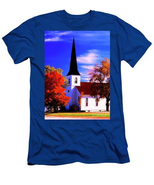 Algonquin Rd Church St Johns United  Men's T-Shirt (Athletic Fit)