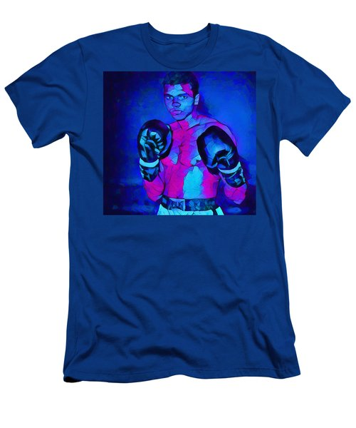 Ali Graphic Abstract Men's T-Shirt (Athletic Fit)
