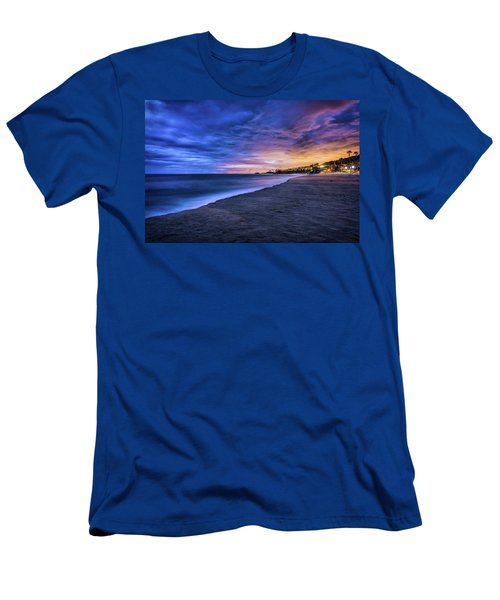 Aliso Beach Lights Men's T-Shirt (Athletic Fit)