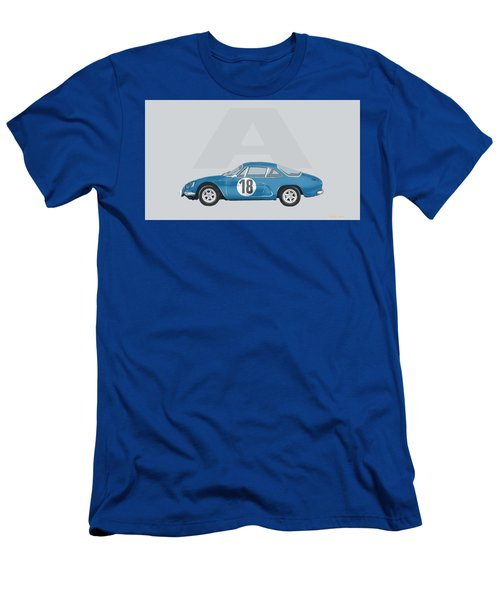 Men's T-Shirt (Slim Fit) featuring the mixed media Alpine A110 by TortureLord Art