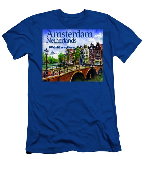 Amsterdam Netherlands Shirt Men's T-Shirt (Athletic Fit)