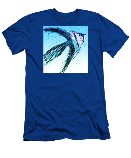 Angel Fish Art Men's T-Shirt (Athletic Fit)