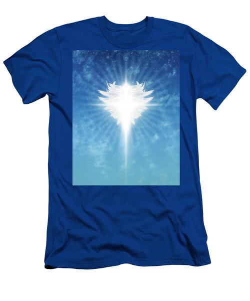 Angel In The Sky Men's T-Shirt (Athletic Fit)