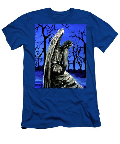 Winter Angel Men's T-Shirt (Athletic Fit)