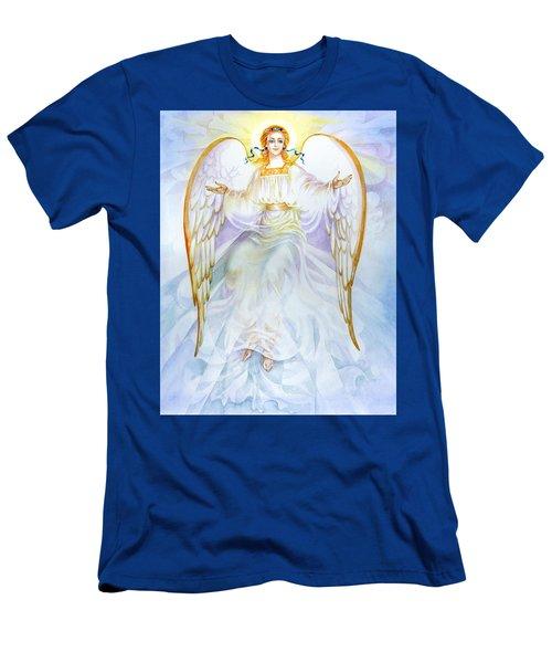 Angel Of Grace Men's T-Shirt (Slim Fit) by Karen Showell