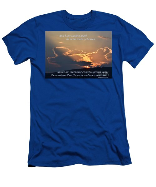 Angel Sky Men's T-Shirt (Athletic Fit)