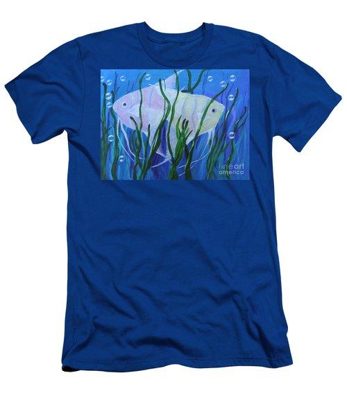 Angelfish Duo Men's T-Shirt (Athletic Fit)