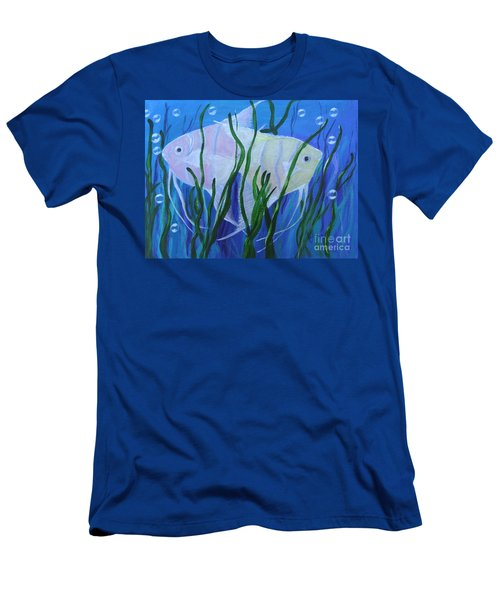 Angelfish Duo Men's T-Shirt (Athletic Fit)