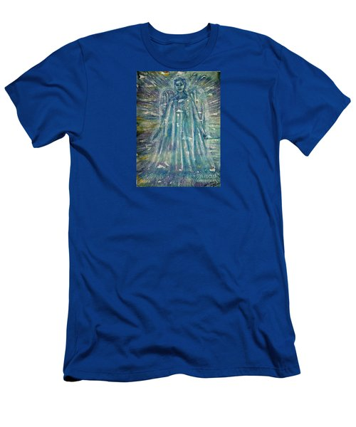 Angelic Being 2 Men's T-Shirt (Athletic Fit)