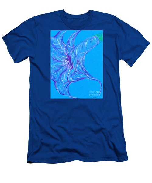 Men's T-Shirt (Slim Fit) featuring the photograph Angel's Trumpet by Kim Sy Ok