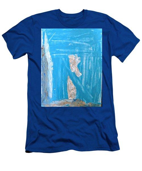 Angels Under A Bridge Men's T-Shirt (Athletic Fit)