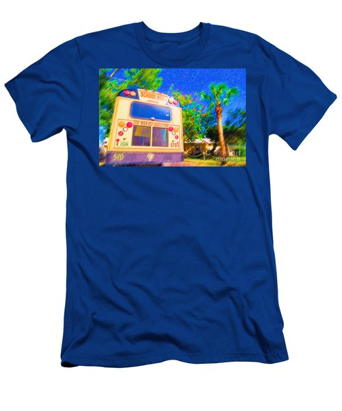 Anna Maria Elementary School Bus C131270 Men's T-Shirt (Athletic Fit)