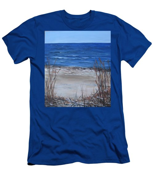 Another View Of East Point Beach Men's T-Shirt (Athletic Fit)